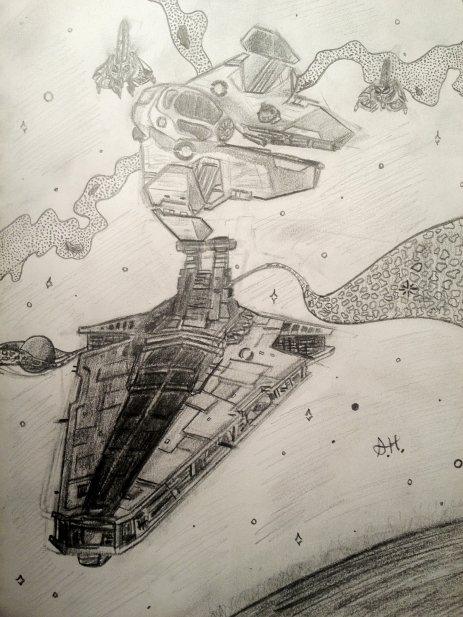 Space Skirmish (Summer 2011)